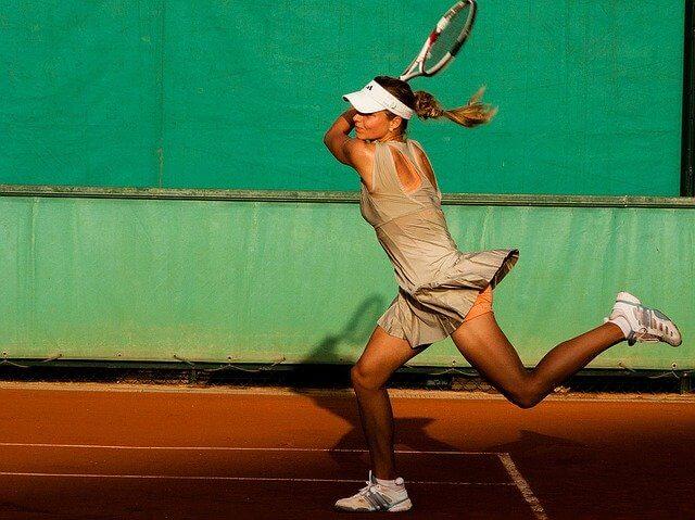テニスのリターン
